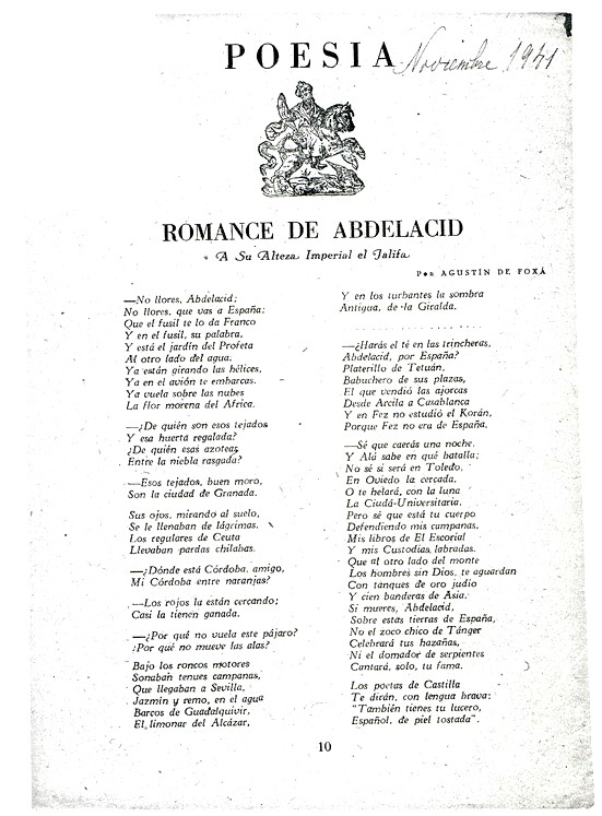 2. EL ROMANCERO DORMITA EN SUS CAJONES, 1939-1945. | ROMANCERO DE ...